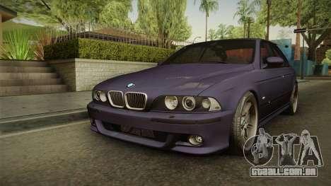 BMW M5 E39 Stock 2001 para GTA San Andreas
