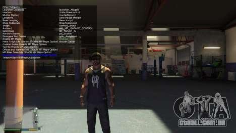 Simple Trainer 4.9 para GTA 5