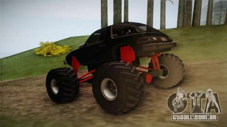 AMC Pacer Monster Truck para GTA San Andreas traseira esquerda vista
