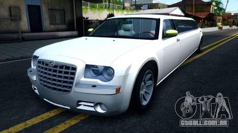 Chrysler 300C Limo 2007 IVF para GTA San Andreas
