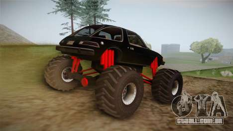 AMC Pacer Monster Truck para GTA San Andreas esquerda vista