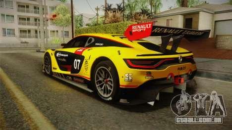 Renault Sport R.S.01 PJ3 para GTA San Andreas