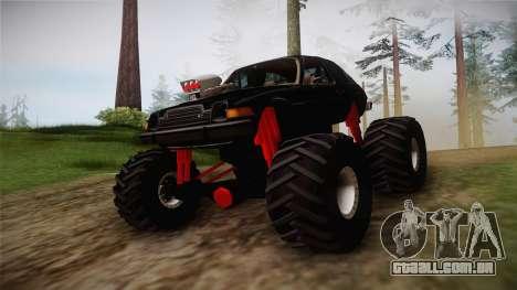 AMC Pacer Monster Truck para GTA San Andreas vista direita