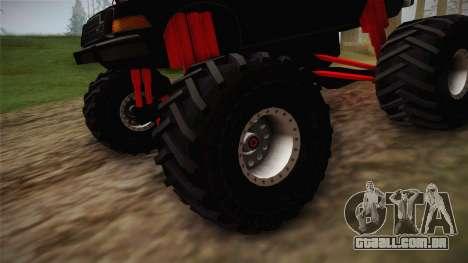 AMC Pacer Monster Truck para GTA San Andreas vista traseira