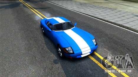New Banshee para GTA San Andreas vista direita
