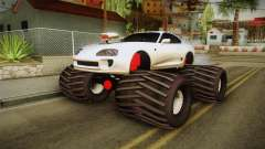 Toyota Supra Monster Truck