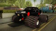Subaru Legacy 1992 Monster Truck