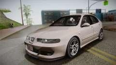 Seat Leon Cupra R em Série E em Typ 1M Ajustável para GTA San Andreas
