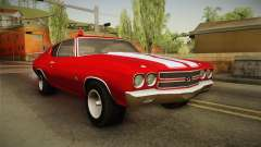 Chevrolet Chevelle SS FBI 1970 para GTA San Andreas
