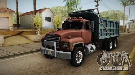 Mack RD690 Dumper 1992 v1.0 para GTA San Andreas