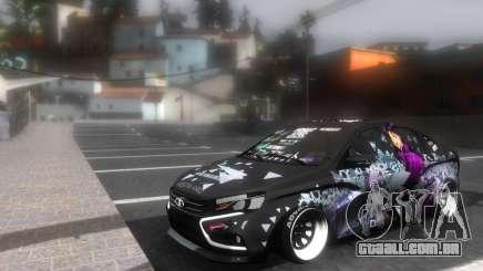Lada Vesta ITASHA PROJECT NERV MISATO para GTA San Andreas