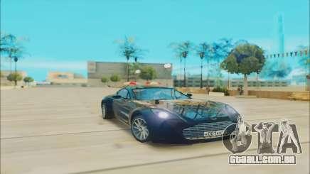 Aston Martin One 77 para GTA San Andreas