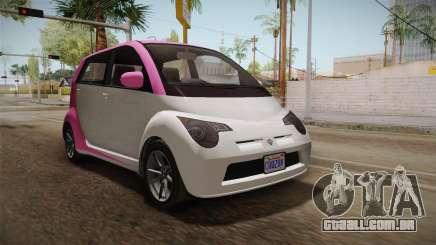 GTA 5 Benefactor Panto 4-doors IVF para GTA San Andreas