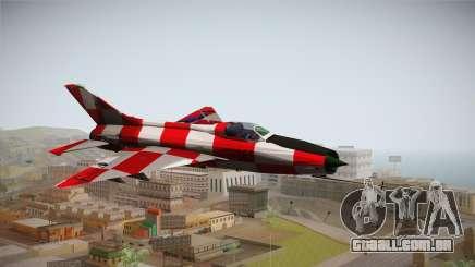 MIG-21 Kockica para GTA San Andreas