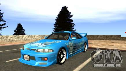 Nissan Skyline GTS25-t Mk.IX [R33] IVF Tunable para GTA San Andreas