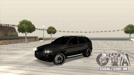 BMW X5 HAMANN para GTA San Andreas