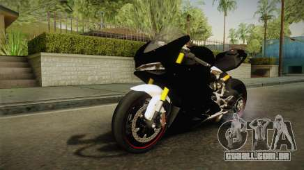 Ducati 1299 Panigale S 2016 Tricolor Black para GTA San Andreas