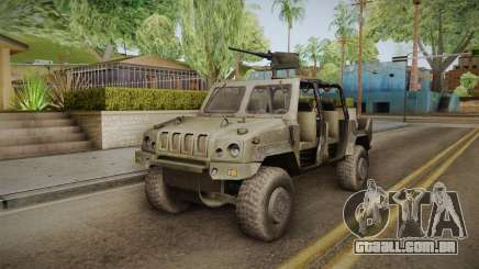Iveco Lince Light LMV para GTA San Andreas