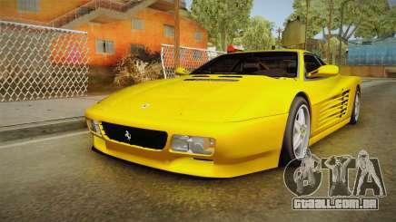 Ferrari 512 TR FBI para GTA San Andreas