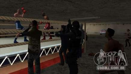 Ilegal torneio de Boxe V2.0 para GTA San Andreas