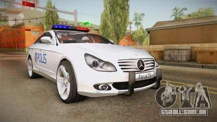 Mercedes-Benz CLS 500 Turkish Police para GTA San Andreas