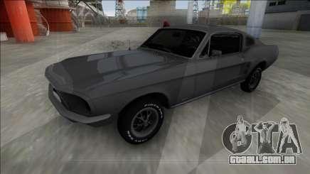 1967 Ford Mustang FBI para GTA San Andreas