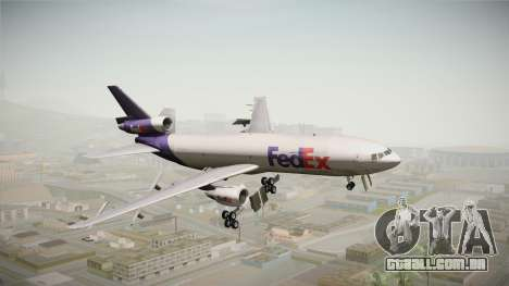 McDonell-Douglas DC-10-30F Fedex para GTA San Andreas