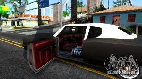 GTA 3 Yardie Lobo para GTA San Andreas vista interior