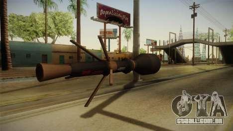Blacklight: Retribution - RL5 para GTA San Andreas segunda tela