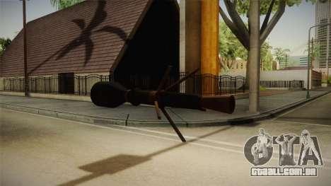 Blacklight: Retribution - RL5 para GTA San Andreas por diante tela