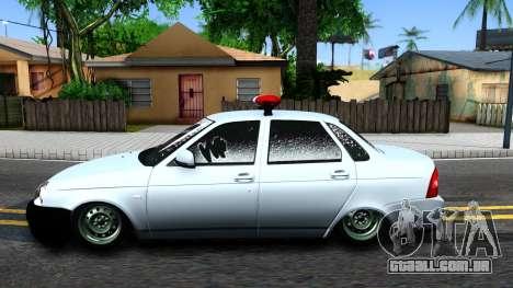 "VAZ 2170 ""Priora"" Estático Polícia para GTA San Andreas"