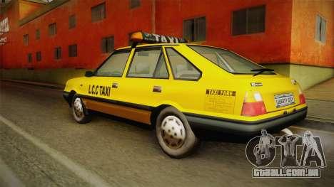 FSO Polonez Caro L.C.C TAXI para GTA San Andreas