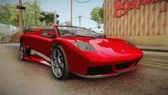 GTA 5 Pegassi Infernus Cabrio