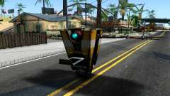 Claptrap From Borderlands para GTA San Andreas