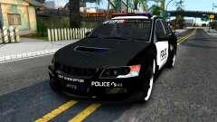 Mitsubishi Lancer Evolution IX Police para GTA San Andreas