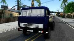 KamAZ 54115 Trator Azul para GTA San Andreas