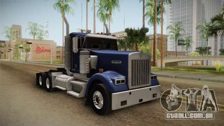 Kenworth W900 ATS 6x4 Cab Low para GTA San Andreas