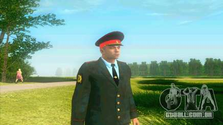 Capitão da polícia Rússia em sua túnica para GTA San Andreas