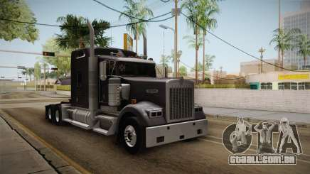Kenworth W900 ATS 6x4 Cab Normal para GTA San Andreas