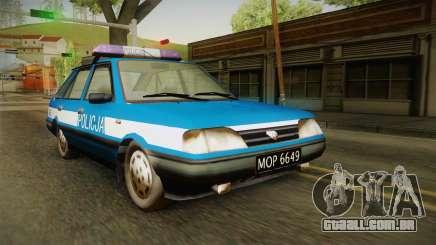 FSO Polonez Caro Policja para GTA San Andreas