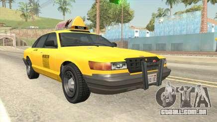 GTA 4 Taxi Car SA Style para GTA San Andreas