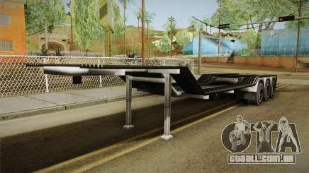 American Multiple Carrier Trailer para GTA San Andreas
