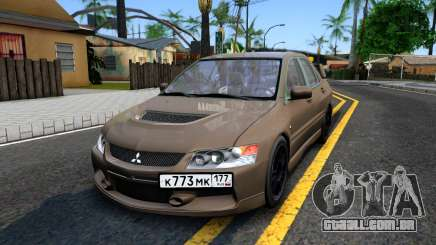 Mitsubishi Lancer Evolution IX 2006 MR para GTA San Andreas