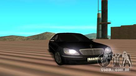 Mercedes s600 para GTA San Andreas