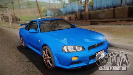 Nissan Skyline GT-R R34 Mk.X para GTA San Andreas