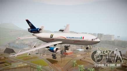 McDonnell-Douglas DC-10 Aeromexico para GTA San Andreas