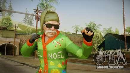 GTA 5 Special Christmas Skin para GTA San Andreas