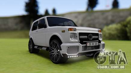 Vaz 2121 Brabus Armenia para GTA San Andreas