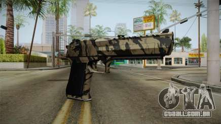 Desert Eagle Black Shark Camo para GTA San Andreas