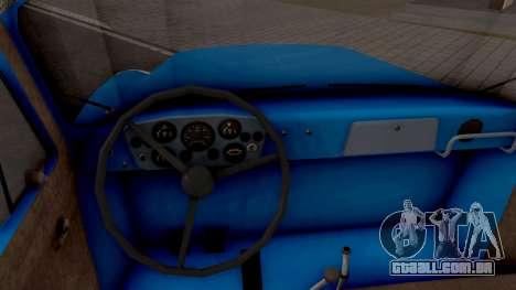GAZ 52-03 para GTA San Andreas vista interior
